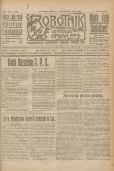 Robotnik : centralny organ P.P.S. R.26, nr 292 (26 października 1920) = nr 1079