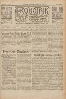 Robotnik : centralny organ P.P.S. R.26, nr 307 (11 listopada 1920) = nr 1094