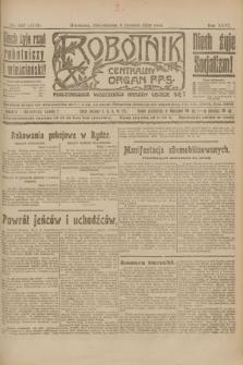 Robotnik : centralny organ P.P.S. R.26, nr 332 (6 grudnia 1920) = nr 1119