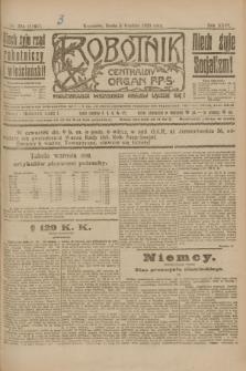 Robotnik : centralny organ P.P.S. R.26, nr 334 (8 grudnia 1920) = nr 1121