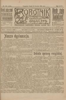 Robotnik : centralny organ P.P.S. R.26, nr 336 (10 grudnia 1920) = nr 1123