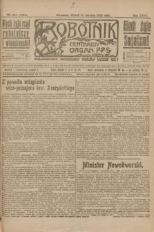 Robotnik : centralny organ P.P.S. R.26, nr 347 (21 grudnia 1920) = nr 1134