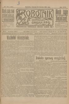 Robotnik : centralny organ P.P.S. R.26, nr 349 (23 grudnia 1920) = nr 1136