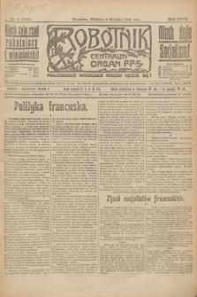 Robotnik : centralny organ P.P.S. R.27, nr 8 (9 stycznia 1921) = nr 1150