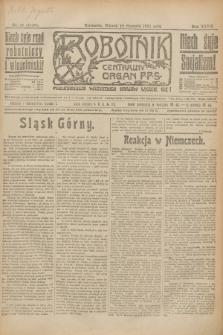Robotnik : centralny organ P.P.S. R.27, nr 17 (18 stycznia 1921) = nr 1159