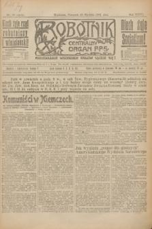 Robotnik : centralny organ P.P.S. R.27, nr 19 (20 stycznia 1921) = nr 1161
