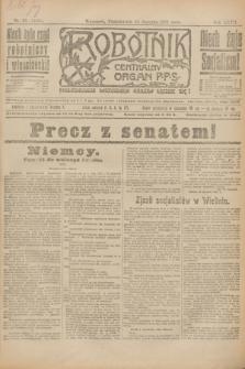 Robotnik : centralny organ P.P.S. R.27, nr 23 (24 stycznia 1921) = nr 1165