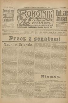 Robotnik : centralny organ P.P.S. R.27, nr 30 (31 stycznia 1921) = nr 1172