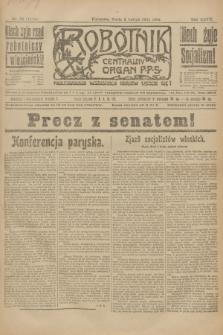 Robotnik : centralny organ P.P.S. R.27, nr 32 (2 lutego 1921) = nr 1174