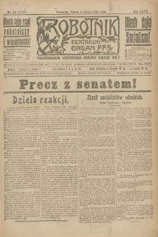 Robotnik : centralny organ P.P.S. R.27, nr 35 (5 lutego 1921) = nr 1177