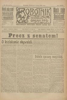 Robotnik : centralny organ P.P.S. R.27, nr 36 (6 lutego 1921) = nr 1178