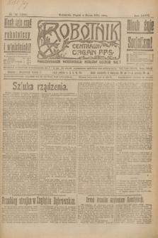 Robotnik : centralny organ P.P.S. R.27, nr 58 (4 marca 1921) = nr 1200