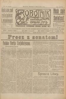 Robotnik : centralny organ P.P.S. R.27, nr 60 (6 marca 1921) = nr 1202