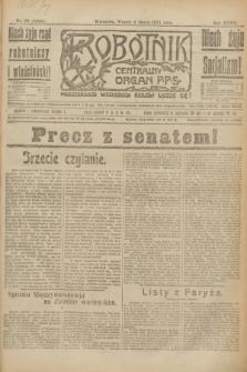 Robotnik : centralny organ P.P.S. R.27, nr 62 (8 marca 1921) = nr 1204