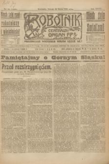 Robotnik : centralny organ P.P.S. R.27, nr 66 (12 marca 1921) = nr 1208