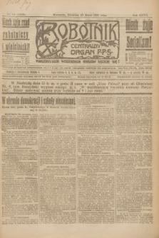 Robotnik : centralny organ P.P.S. R.27, nr 67 (13 marca 1921) = nr 1209