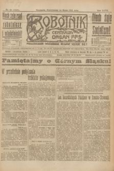 Robotnik : centralny organ P.P.S. R.27, nr 68 (14 marca 1921) = nr 1210
