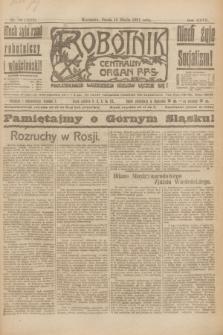 Robotnik : centralny organ P.P.S. R.27, nr 70 (16 marca 1921) = nr 1212