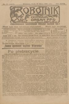 Robotnik : centralny organ P.P.S. R.27, nr 77 (23 marca 1921) = nr 1219