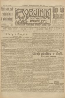 Robotnik : centralny organ P.P.S. R.27, nr 87 (5 kwietnia 1921) = nr 1229