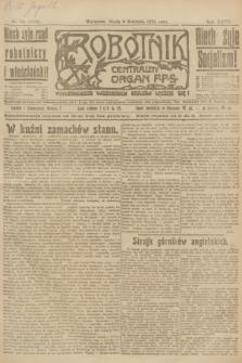 Robotnik : centralny organ P.P.S. R.27, nr 88 (6 kwietnia 1921) = nr 1230