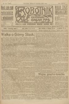 Robotnik : centralny organ P.P.S. R.27, nr 91 (9 kwietnia 1921) = nr 1233