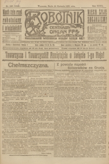 Robotnik : centralny organ P.P.S. R.27, nr 102 (20 kwietnia 1921) = nr 1244
