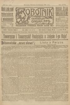 Robotnik : centralny organ P.P.S. R.27, nr 106 (24 kwietnia 1921) = nr 1228