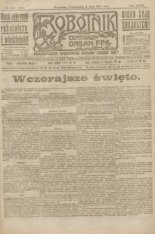 Robotnik : centralny organ P.P.S. R.27, nr 114 (2 maja 1921) = nr 1236