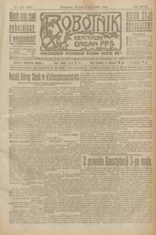 Robotnik : centralny organ P.P.S. R.27, nr 115 (3 maja 1921) = nr 1237