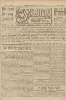 Robotnik : centralny organ P.P.S. R.27, nr 117 (5 maja 1921) = nr 1239