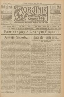 Robotnik : centralny organ P.P.S. R.27, nr 126 (14 maja 1921) = nr 1248