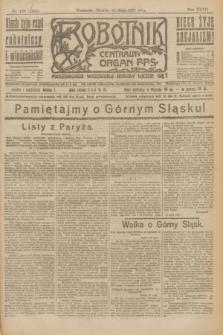 Robotnik : centralny organ P.P.S. R.27, nr 128 (17 maja 1921) = nr 1250