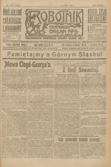 Robotnik : centralny organ P.P.S. R.27, nr 129 (18 maja 1921) = nr 1251
