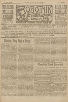 Robotnik : centralny organ P.P.S. R.27, nr 130 (19 maja 1921) = nr 1252