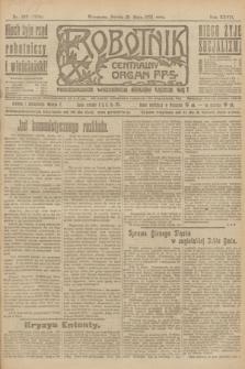 Robotnik : centralny organ P.P.S. R.27, nr 132 (21 maja 1921) = nr 1254