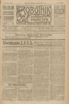 Robotnik : centralny organ P.P.S. R.27, nr 137 (26 maja 1921) = nr 1259