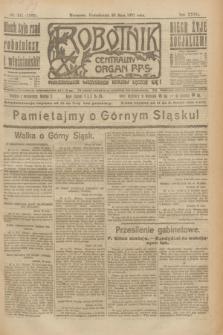 Robotnik : centralny organ P.P.S. R.27, nr 141 (30 maja 1921) = nr 1263