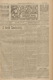 Robotnik : centralny organ P.P.S. R.27, nr 143 (1 czerwca 1921) = nr 1265
