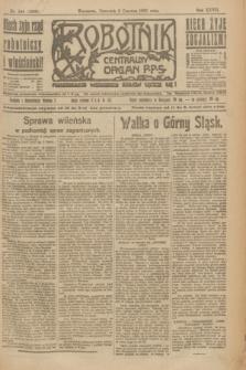 Robotnik : centralny organ P.P.S. R.27, nr 144 (2 czerwca 1921) = nr 1266