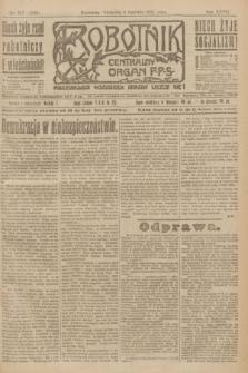 Robotnik : centralny organ P.P.S. R.27, nr 147 (5 czerwca 1921) = nr 1269