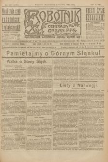 Robotnik : centralny organ P.P.S. R.27, nr 148 (6 czerwca 1921) = nr 1270
