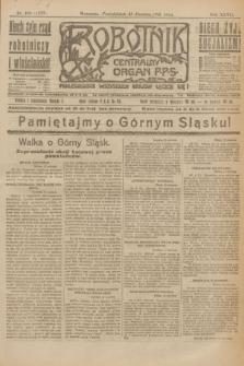 Robotnik : centralny organ P.P.S. R.27, nr 155 (13 czerwca 1921) = nr 1277