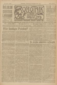 Robotnik : centralny organ P.P.S. R.27, nr 158 (16 czerwca 1921) = nr 1280
