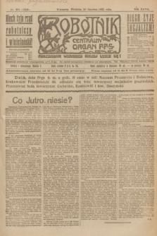 Robotnik : centralny organ P.P.S. R.27, nr 161 (19 czerwca 1921) = nr 1283