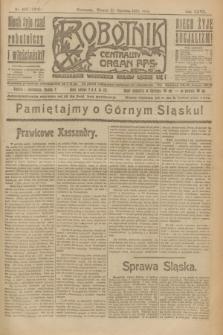 Robotnik : centralny organ P.P.S. R.27, nr 163 (21 czerwca 1921) = nr 1285