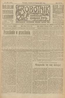Robotnik : centralny organ P.P.S. R.27, nr 165 (23 czerwca 1921) = nr 1287