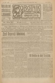 Robotnik : centralny organ P.P.S. R.27, nr 168 (26 czerwca 1921) = nr 1290