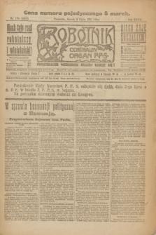 Robotnik : centralny organ P.P.S. R.27, nr 174 (2 lipca 1921) = nr 1296