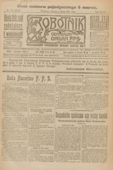 Robotnik : centralny organ P.P.S. R.27, nr 177 (5 lipca 1921) = nr 1299